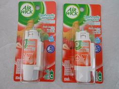2 Air Wick Freshmatic Compact Spray  fragranc Refills fruit medley  #AirWick