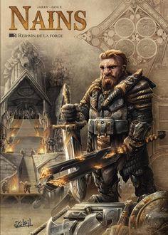 Nains tome 1 - Redwin de la Forge : Nicolas Jarry, Pierre-Denis Goux - BD