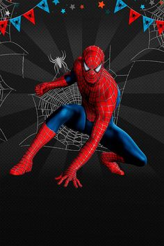 This is a Spiderman Birthday invitation. Happy Birthday Spiderman, Spiderman Theme Party, Spiderman Birthday Invitations, Amazing Spiderman, Spiderman Art, Avengers, Cartoon, Everton, Peru