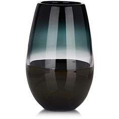 Caleb Siemon Scuro Soft Cylinder Vase (€555) ❤ liked on Polyvore featuring home, home decor, vases, multi, handmade home decor, round vase, cylinder vases and hand blown vase