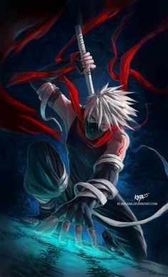 Kakashi-sensei awsome art