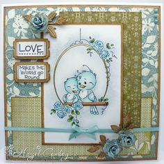 Adorable card by Hazel Conboy at Simply Me .