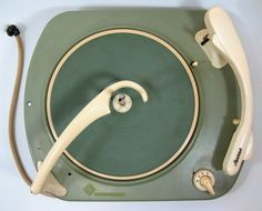 VINTAGE TELEFUNKEN PHONO TURNTABLE RECORD PLAYER 1950s GOOD MOTOR | eBay
