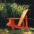 Child Size Adirondack Chairs: These three chairs are reduced from my original Adult Adirondack Chair, but constructed from or cedar fence boards with brass screws and bolts. Cedar Fence Boards, Ontario Cottages, Kids Furniture, Outdoor Furniture, Ladder Stands, Adirondack Chair Plans, Outdoor Chairs, Outdoor Decor, Folding Chair