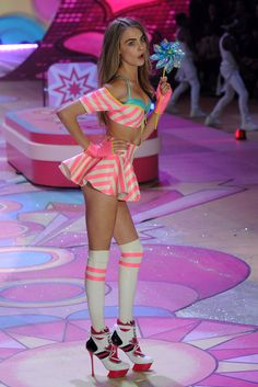 Cara Delevingne -- Victoria's Secret Fashion Show 2012 | Runway Pictures | POPSUGAR Fashion #VSFS #VSFS_2012