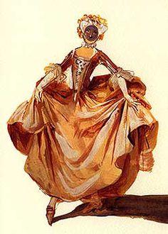 COLOMBINA (1683) Illustrating the Italian Commedia dell\' Arte, or ...
