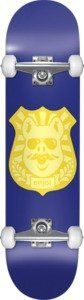 """Enjoi Pig Badge Complete Skateboard - 8"""" x 31.9"""" by Enjoi. $113.60. This Enjoi skateboard comes with Enjoi trucks & Enjoi wheels. No assembly required."""