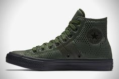 With the Converse brand being rejuvenated by its acquisition by Nike, more specialty and limited editions of their shoes have been hitting the market and Chuck Taylor Boots, Converse Chuck Taylor Ii, Men's Shoes, Shoe Boots, Dress Shoes, Pullover Shirt, Fashion Shoes, Mens Fashion, Sneakers Fashion
