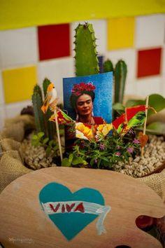 2 anos da Nalu Rosa  Festa Frida Kahlo  Mexicana  Caveiras mexicanas  Cores de Frida Kahlo