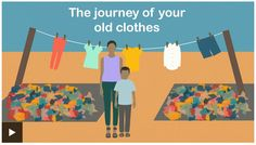 What happens to your old clothes after you donate them?  ... This video is from the UK, but the process is the same here in the US.