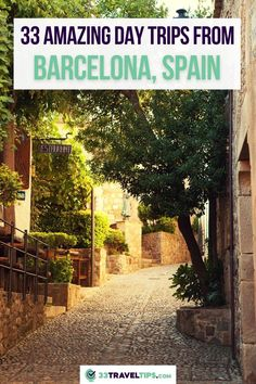 33 Amazing Day Trips from Barcelona, Spain. Are you looking for the best day trips from Barcelona? Barcelona is one of the few places in the world, which offers a bunch of activities and sights not only inside the city limits but also in a close proximity, making it the perfect starting point for numerous day trips. Check out these 33 Best Day Trips from Barcelona Spain . Barcelona Day Trips | Barcelona Travel | Best day trips from Barcelona | #daytrips #barcelona #spain #travelguide Spain Travel Guide, Europe Travel Tips, Traveling Tips, Travel Plan, Travel Goals, Travel Advice, Travel Guides, Travelling, European Vacation