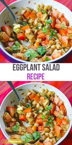 The Original Eggplant Salad or Ensaladang Talong Recipe