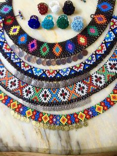 Beaded Jewelry, Beaded Necklaces, Beading Tutorials, Seed Beads, Friendship Bracelets, Earrings, Pattern, Necklaces, Suitcase