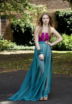 Modestly Extravagant Sheer Maxi Skirt Styles - Glam Bistro