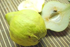 How to Select, Eat and Prepare Quince Fruit
