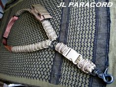Custom Single Point Adjustable Paracord Rifle Sling In Arid/Coyote ...