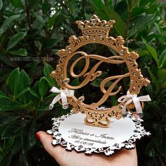 We deliver to other countries. . . . E-mail contact: comercial@lyrastudio.com.br Laser Cutter Ideas, Laser Cutter Projects, Wedding Arrangements, Wedding Centerpieces, Wedding Decorations, Ring Holder Wedding, Ring Pillow Wedding, Wedding Post Box, Laser Cut Invitation