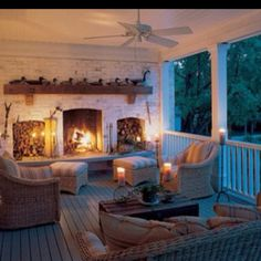 So cozy. I can just imagine sitting by that merry fire wrapped in a blanket and watching the rain! Ahh.