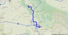 Driving Directions from Phoenix-Mesa Gateway Airport in Mesa, Arizona 85212 to 732 Lincoln Ave, Prescott, Arizona 86301 | MapQuest
