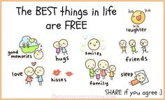 Daveswordsofwisdom.com: The best things in life are free.