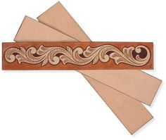 Tandy Leather Factory Bookmark Leather Craft:  3 bookmarks for $7.96