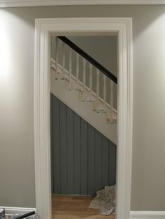 Love the color Farrow and Ball hardwick white
