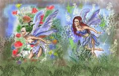 Mythological Creature Study #1:Faeries