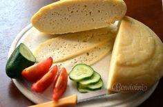 Slovak homemade cheese - Domáci tvrdý syr - Slovak language