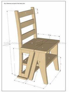 #2275 Make Step Stool - Furniture Plans