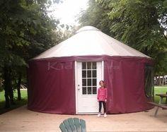 Glamping Yurt at Bingemans.