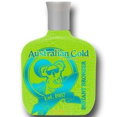 Australian Gold Classic Sydney Instant Bronzer Tanning Lotion 8.5 oz. by Australian Gold. $16.50. Organic, Paraben and silicone. Want to look like you just walked off the beaches down under? Our koala bear, Sydney, has just the thing for you! The Classic Sydney collection is organic, paraben and silicone free, sure to get you a dark Aussie tan color! This ultra dark, all natural bronzer will give you an eye-catching glow while it moisturizes and nourishes skin. So, f...