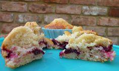damson muffins cut up *