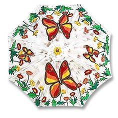 Painted umbrella, this site has some good tips Outdoor Umbrella, Under My Umbrella, Umbrella Painting, Umbrellas Parasols, Singing In The Rain, Degas, Monet, Painting Inspiration, Fun Stuff