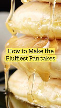 Fun Baking Recipes, Brunch Recipes, Cooking Recipes, Breakfast Dishes, Breakfast Recipes, Breakfast Pancakes, Kreative Desserts, Comida Diy, Köstliche Desserts
