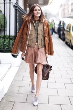 olivia-palermo-street-style-icon-leopard-dress-skirt-white-shirt-leathe