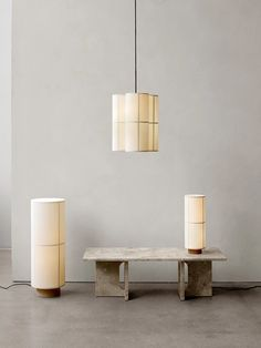Hashira Table Lamp, Menu _ The Fine Store A Table, Table Lamp, Style Japonais, Design Studio, Modern Spaces, Fine Furniture, Furniture Decor, Contemporary Furniture, Paper Lanterns