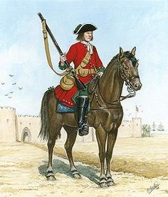 Image result for British regiment colors for the War of Spanish Succession