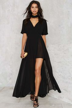 Glamorous Go Long Maxi Dress - Party Shop | Best Sellers | Midi + Maxi | LBD