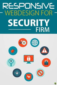 Responsive Website Designing Services for Security Firm