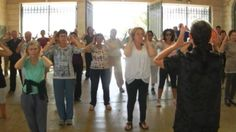 CHi Gong Session at the World Tai Chi and Chi Kung Day in Jerusalem 2016