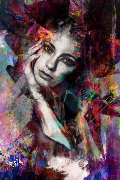 Original Art Ink/Color/Digital/Paint/Acrylic Painting, measuring: 80W x 120H x 3D cm, by: Yossi Kotler (Israel). Styles: Street Art, Abstract Expressionism, Portraiture, Pop Art, Figurative. Subject: People. Keywords: Portrait, Face, Mix Media, Crylic Painting, Yossi Kotler Art. This Ink/Color/Digital/Paint/Acrylic Painting is one of a kind and once sold will no longer be available to purchase. Buy art at Saatchi Art. L'art Du Portrait, Abstract Portrait, Acrylic Painting Canvas, Canvas Art, Ink Painting, Canvas Size, Pop Art, Digital Ink, Abstract Expressionism Art
