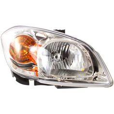 2005-2010 Chevy Cobalt Head Light RH, Composite, Assembly, Halogen, Clear Lens