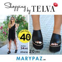 Working girl by TELVA ¡¡ Descúbrelo en las SEGUNDAS REBAJAS DE MARYPAZ ahora al 40%DTO!!  Compra esta MULE DE PLATAFORMA REBAJADA aquí ►http://www.marypaz.com/mule-de-tacon-y-plataforma-0424216v671-74020.html  ¡¡¡ SEGUNDAS REBAJAS BY MARYPAZ !!! 👏 ►►HASTA EL 60%DTO EN MARYPAZ.COM 💚 👠  #segundasrebajas #finalsales #SS16 #Follow #shoesobssession #summer #love #fashion #obsesionadaconloszapatos #obsesion #tendencias #marypaz #locaporlamoda #springsummer #SS16 #BFF #igers #moda #trendy #lo