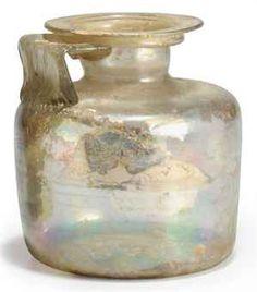 roman glass jug.