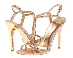 REVEL: Bronze Wedding Shoes <3 themarriedapp.com hearted <3