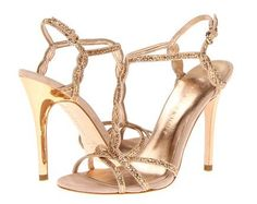 Steve Madden peep toe Bronze Shoes | Shoes | Pinterest | For sale ...