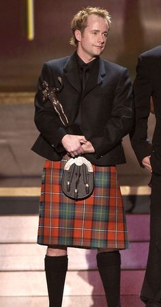 Billy Boyd: Winning awards, wearing kilts, and saving hot Aussie guys from being burned to death...all in a day's work.