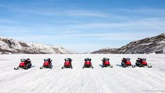 NORWAY | Snow scooter safari on Barents Sea