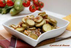 Zucchine agrodolce - I pasticci di Simona