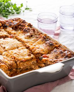 Recipe: Meaty Mushroom Lasagna — Recipes from The Kitchn